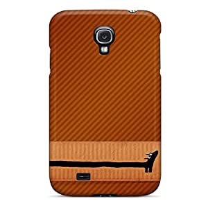 Excellent Galaxy S4 Case Tpu Cover Back Skin Protector Giraffe Dachshund Art