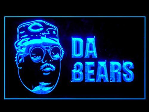 Chicago Bear Da Bears Led Light Sign