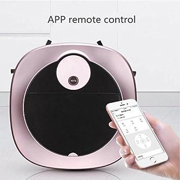 JJYJQR Robot Aspirador Smartphone Wifi App Robot De Control Aspiradora Mojado Y Seco De La Fregona, ...