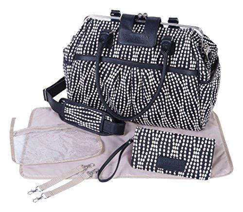 Waverly Baby by Trend Lab Strands Sterling Framed Diaper Bag