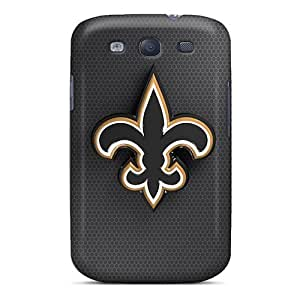 Galaxy S3 Case Cover New Orleans Saints Case - Eco-friendly Packaging