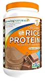 Growing Naturals Organic Rice Protein Powder, Chocolate, 33.6 Ounce For Sale
