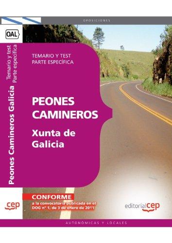 Descargar Libro Peones Camineros De La Xunta De Galicia. Temario Y Test. Parte Específica Sin Datos