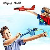noband 4 Pack Airplane Toys, Throwing Foam Plane