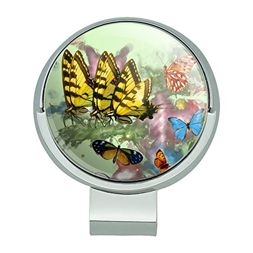 GRAPHICS & MORE Butterflies Butterfly Magical Emergence Tiger Swallowtail Golf Hat Clip with Magnetic Ball Marker ()