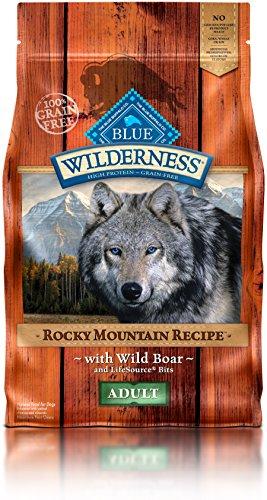 Blue Buffalo Wilderness Adult Rocky Mountain Recipes Boar 4 lb