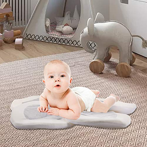 517lSe - Baby Bath - Flower Baby Bath Pad Infant Bathtub Mat For Bathtub Tub Sink - Gray2