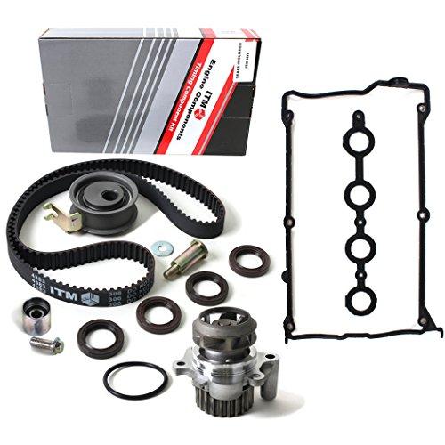 - NEW ITM306WPVC (150 Teeth) Timing Belt Kit, Water Pump Set (w/ Metal Impeller), & Valve Cover Gasket Set