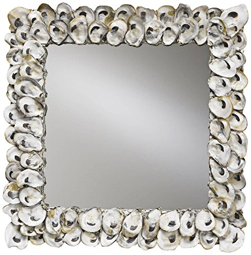 Currey And Company - cute square wall mirror - Mirror wall art