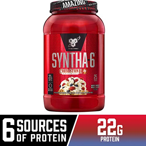 BSN Syntha 6 Cold Stone Creamery Berry Good, 2.59 Pound
