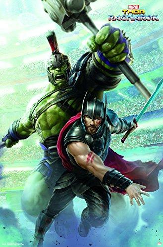 """Trends International Wall Poster Thor: Ragnarok-Warriors, 22.375"""" x 34"""""""