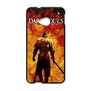 HTC One M7 Case Cell phone Case Dark Souls Plastic Nrjj Durable Cover