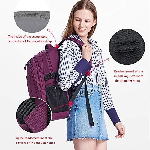 Viola Tracolla Da Viola Viaggio Viaggio Per Backpack color Uomo A Borsa qIBWwz