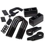 "HeavyMetal - Suspension Lift Kit 3"" Adjustable Front Lift Torsion Keys + 3"" Rear Lift Blocks + Torsion Tool + Shims Ford Ranger 4x4"