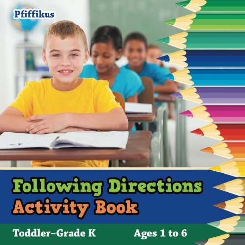 Following Directions Activity Book | Toddler–Grade K - Ages 1 to 6