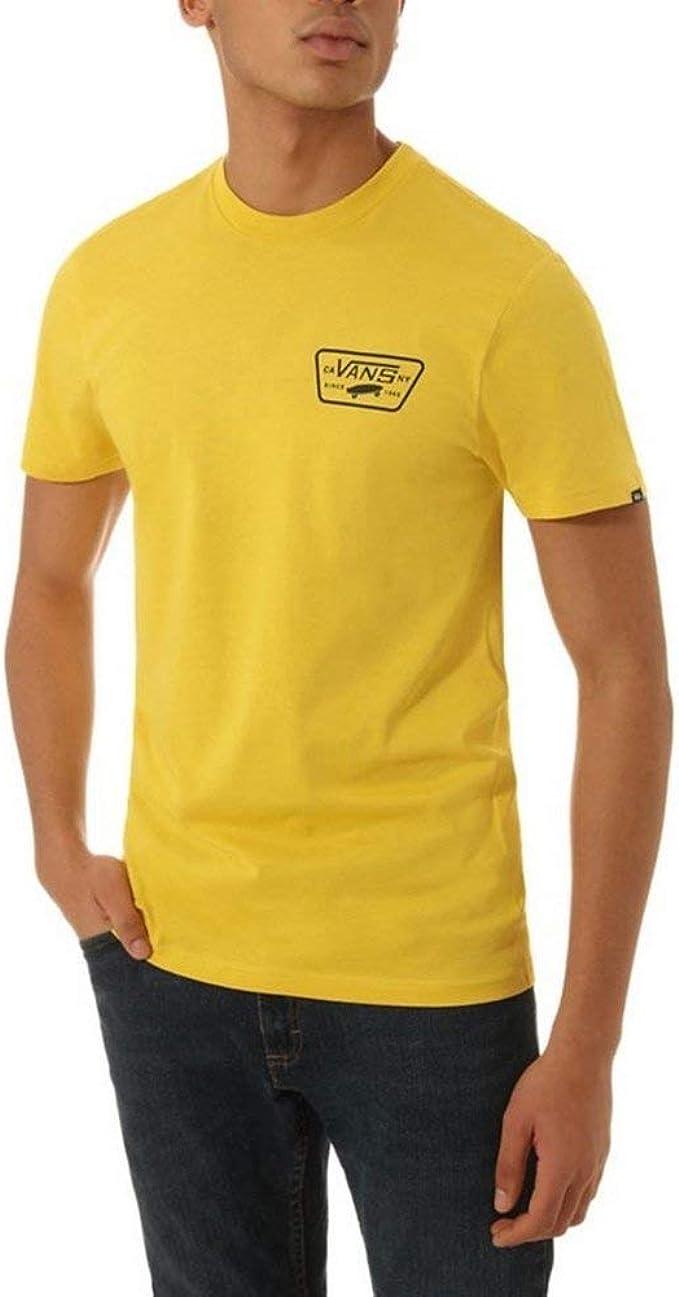 Vans T Shirt Full Patch Back Sulphur Gelb XL (X Large