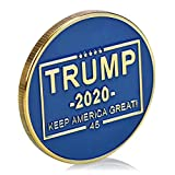 Trump 2020 Keep America Great - Get Your Latest Donald Trump Challenge Coin! A Michael Zweig Designer Collectors Coin Exclusive by Presidential Mint