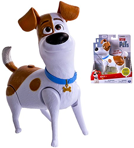 "Max the Jack Russel Terrier from Illumination Movie Secret Life of Pets Walking Talking Pet 4"" Figure IN STOCK"