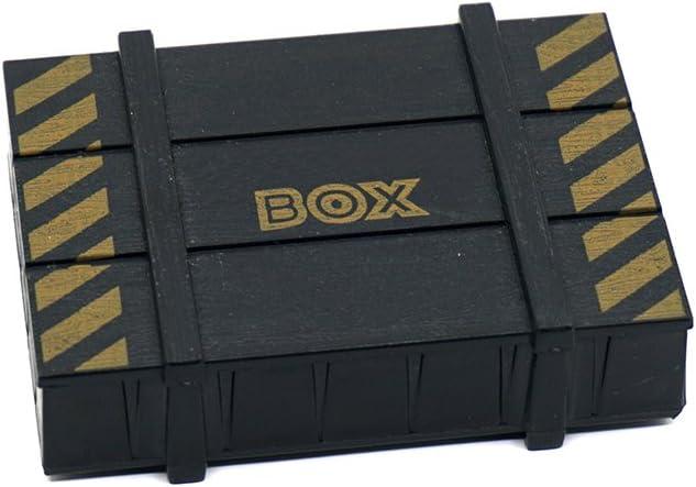 CL RC Rock Crawler 1:10 Zubehör Holzkiste für Axial SCX10 Tamiya TRX