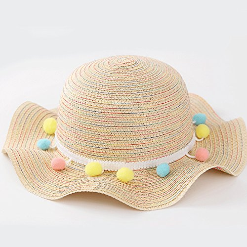 7e1b00ed4049a NOMSOCR Kids Baby Girl Straw Hat