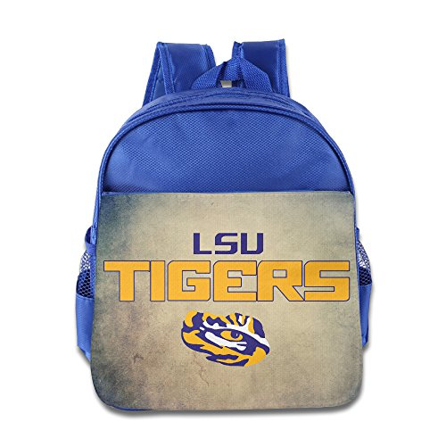Tiger Eye Thong (LSU Tigers Eyes Plan Of Attack Kids School RoyalBlue Backpack Bag )
