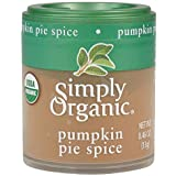 Simply Organic Pumpkin Pie Spice, Certified Organic | 0.46 oz | Pack of 12