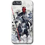 """iPhone 6 Plus/6s Plus (5.5"""") Star Wars Fan Art Silicone Phone Case / Gel Cover for Apple iPhone 6S Plus 6 Plus (5.5"""") / Screen Protector & Cloth / iCHOOSE / Darth Maul"""