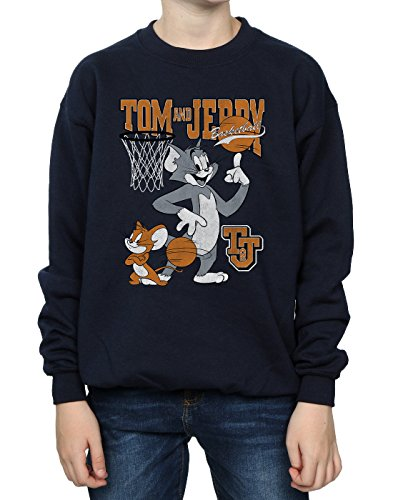 Tom Boy da And scuro basket Jerry Blu Felpa Spinning q6waC