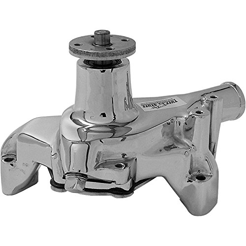 Tuff Stuff 1449NAREV Long Reverse Rotation Water Pump for Small Block Chevy