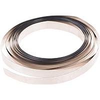 ongwish 5Meter Pure NI Teller Nickel Streifen Klebeband für Li 18650Akku Spot Schweißen (Breite: 8mm; Stärke: 0,1mm)