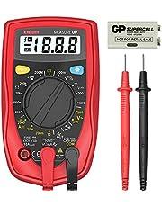 Etekcity msr-r500Medidor Multímetro Digital, Volt Amp Ohm con diodo y prueba de continuidad