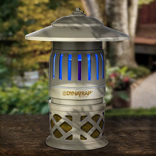 DynaTrap 3-Way Protection, Twist On/Off Insect Trap, 1/2 Acre Coverage by Dynatrap