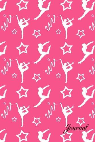 Download Journal: Pink white gymnastics stars notebook PDF