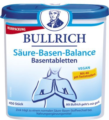 BULLRICH Säure Basen Balance Tabletten 450 St Tabletten