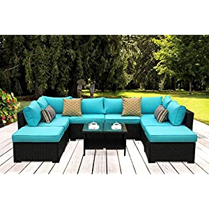 517lY0D0ROL._SS300_ Best Wicker Patio Furniture Sets For 2020