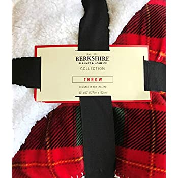 Amazon Com Berkshire Home Loftmink Sherpa Reversible