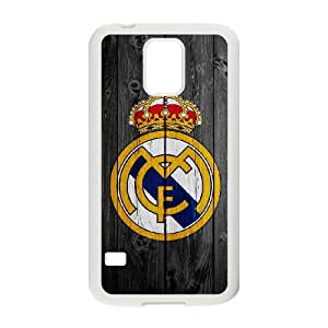 Samsung Galaxy S5 Custom Cell PhoneCase Real Madrid FC Logo Case Cover WWPF33256