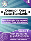 Fourth Grade Common Core Workbook: Worksheets, CoreCommonStandards.com, 1499181868