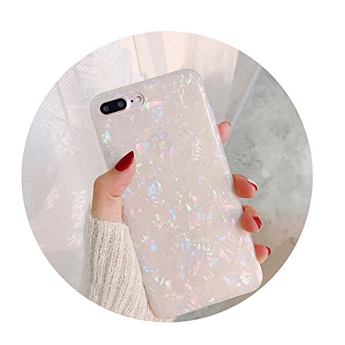Glitter Phone Case For iPhone 7 8 Plus Dream Shell Pattern Cases For iPhone Color For iPhone 7