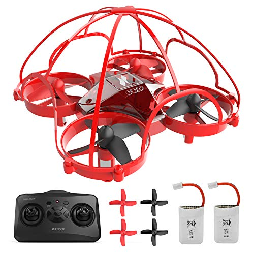 ATOYX Mini Drone RC Nano Quadcopter Best Drone for Kids and Beginners RC Helicopter Plane with Auto Hovering, 3D Flip…
