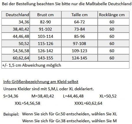 50er Rockabilly TanzKleid Petticoat Übergröße Big Size Gr. 32,34,36,38,40,42,44,46,48,50,52,54,56,58,60,62