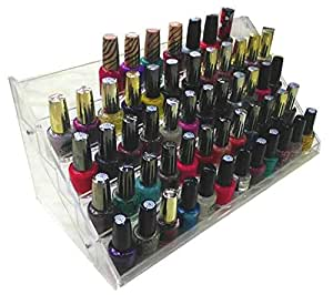 Nail Polish Table Rack Display 60 Bottles