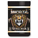 IMMORTAL – ULTRA BCAA (Golden Citrus) MAJESTIC BCAA – LEGENDARY FLAVOR- 40 SERVINGS – REBUILD – RESTORE – RECOVER – ODIN COMMANDS YOU! Review