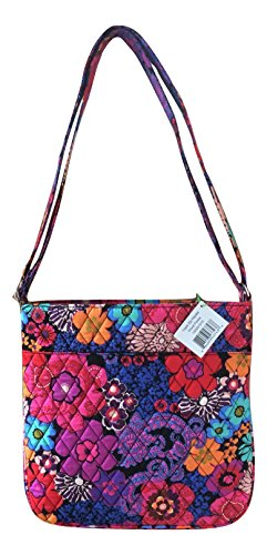 Black Triple Vera Zip Interior Interiors Solid Cross Bradley Hipster body with With Bag Updated Floral Fiesta 55q6wRr1