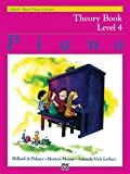 Alfred's Basic Piano Library Theory, Bk 4 (Alfred's Basic Piano Library, Bk 4)