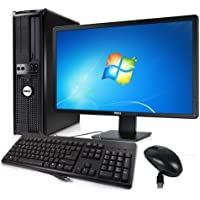 Business Computer! Dell 755 - Core 2 Quad 2.4GHz, 4GB DDR2, New 1TB HDD, Windows 7 Pro 64-Bit, WiFi + New 24 Dell LCD Monitor (Prepared by ReCircuit)