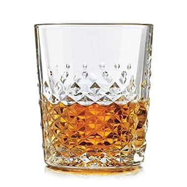 Libbey 56616 4-Piece Perfect Scotch Glass, 12-Ounce