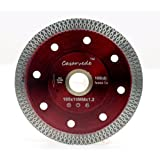 Casaverd super thin 1.2mm porcelain saw blade with segment height 10mm (4 inch)