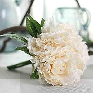 YJYdada Artificial Fake Flowers Leaf Magnolia Floral Wedding Bouquet Party Home Decor 8