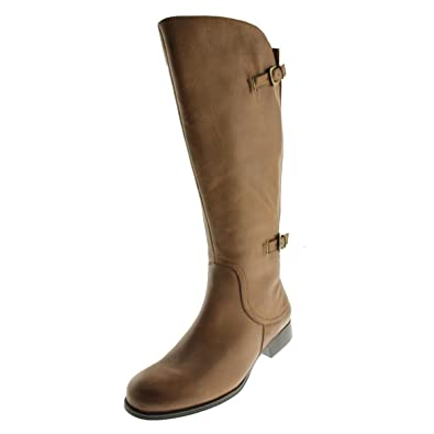 7f2b0196f07c9e Image Unavailable. Image not available for. Color: Naturalizer Womens  Janelle Brown Leather Riding Boots ...